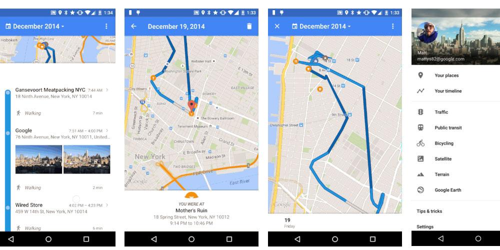 How Law Enforcement Can Use Google Timeline To Track Your Every Move