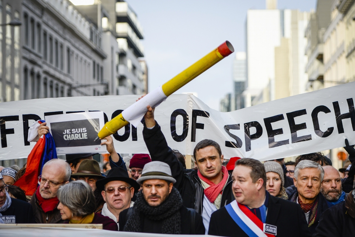 No One Compared Charlie Hebdo to the Nazis, and It's a Logical Sin To Say So