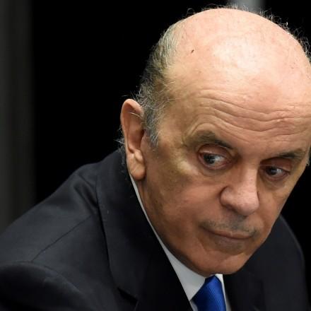 BRAZIL-CRISIS-IMPEACHMENT-ROUSSEFF-SENATE-SERRA