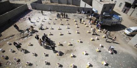 Coalition air strikes kill 16 rebels in Yemen
