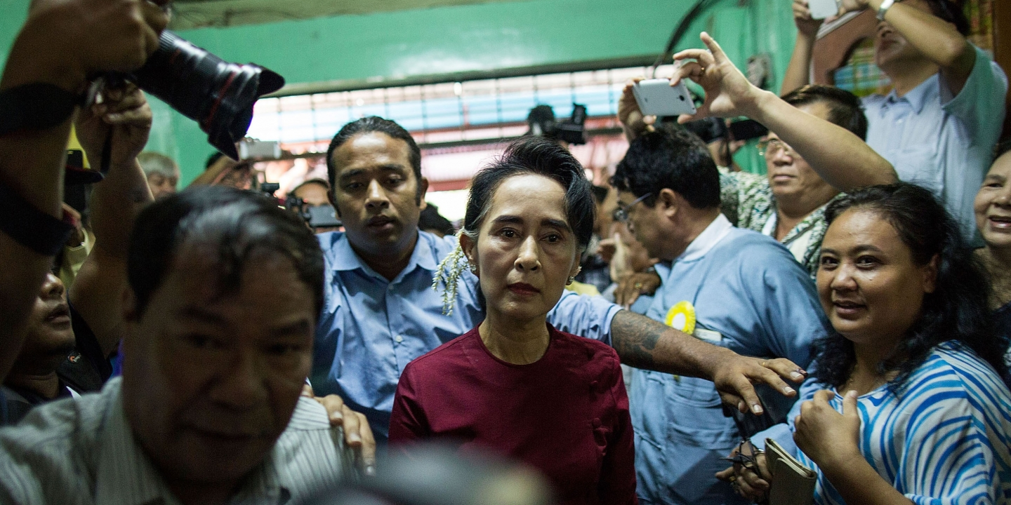 burmese nobel prize winner aung san suu kyi has turned into an mehdi hasan