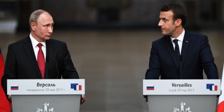 Macron, Putin hold 'frank' talks on Syria, Ukraine