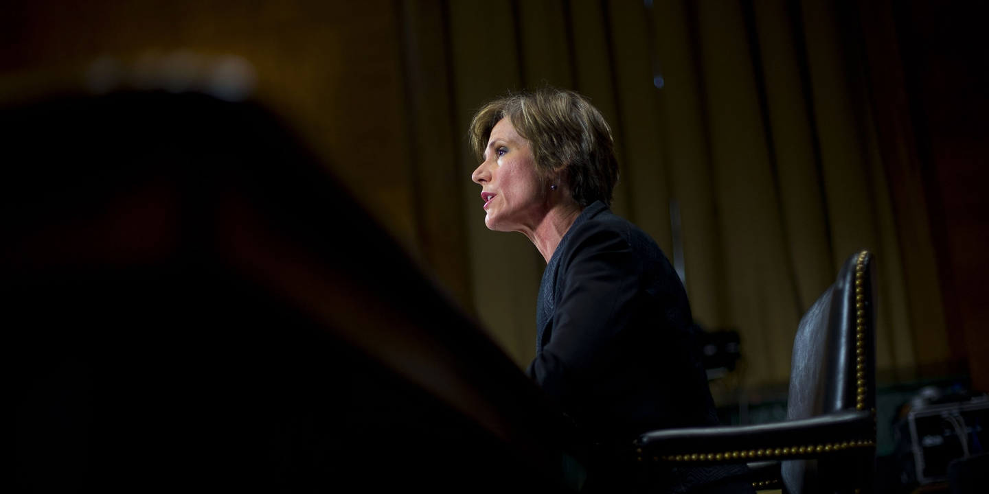 Here's What We Learned From Former Acting AG Sally Yates' Senate Hearing