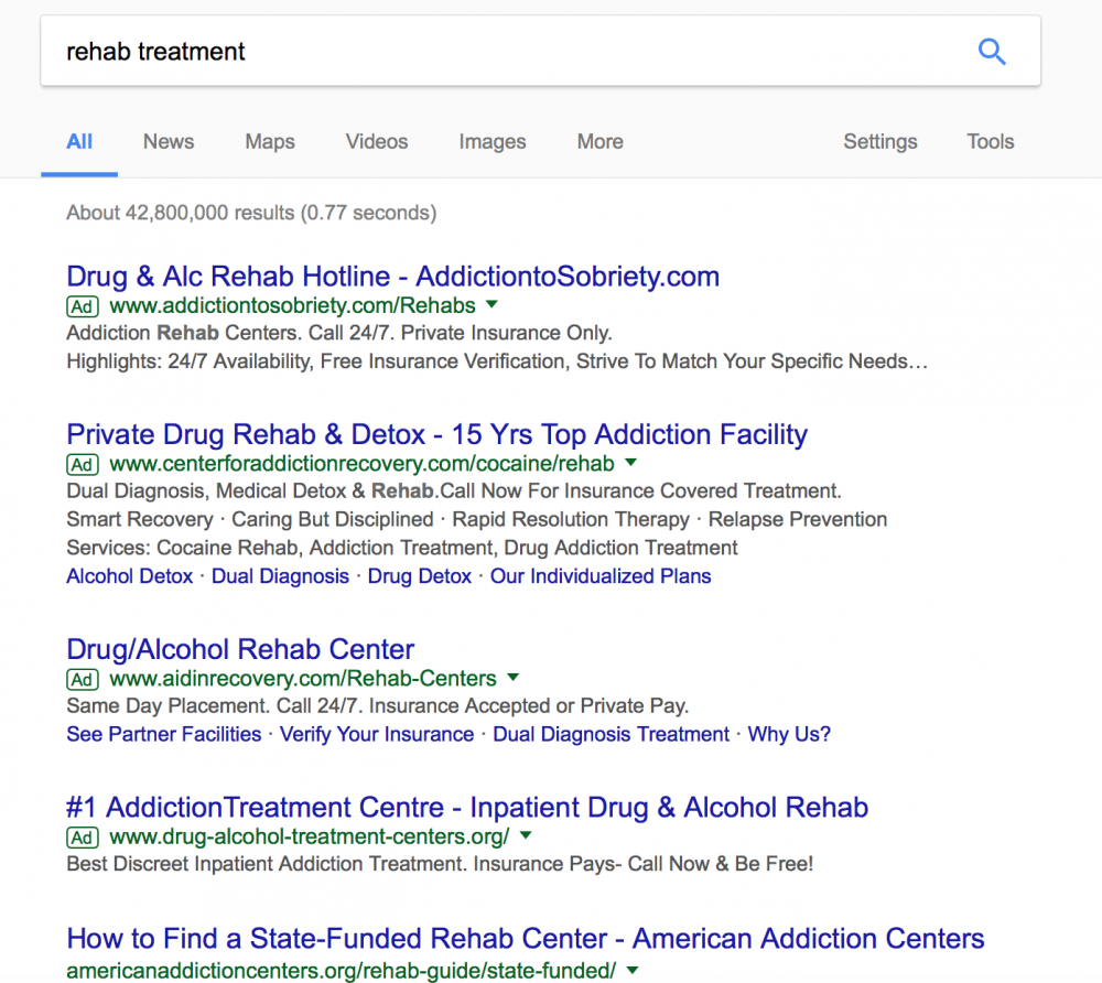 Google Is So Big, It Is Now Shaping Policy To Combat The Opioid Epidemic. And It's Screwing It Up.