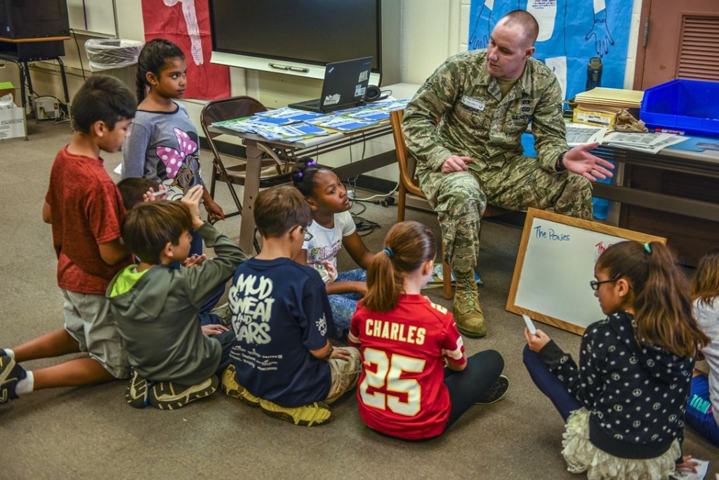 Former Military Leaders Want To Expand And Improve Child Care — To Increase Future Recruitment