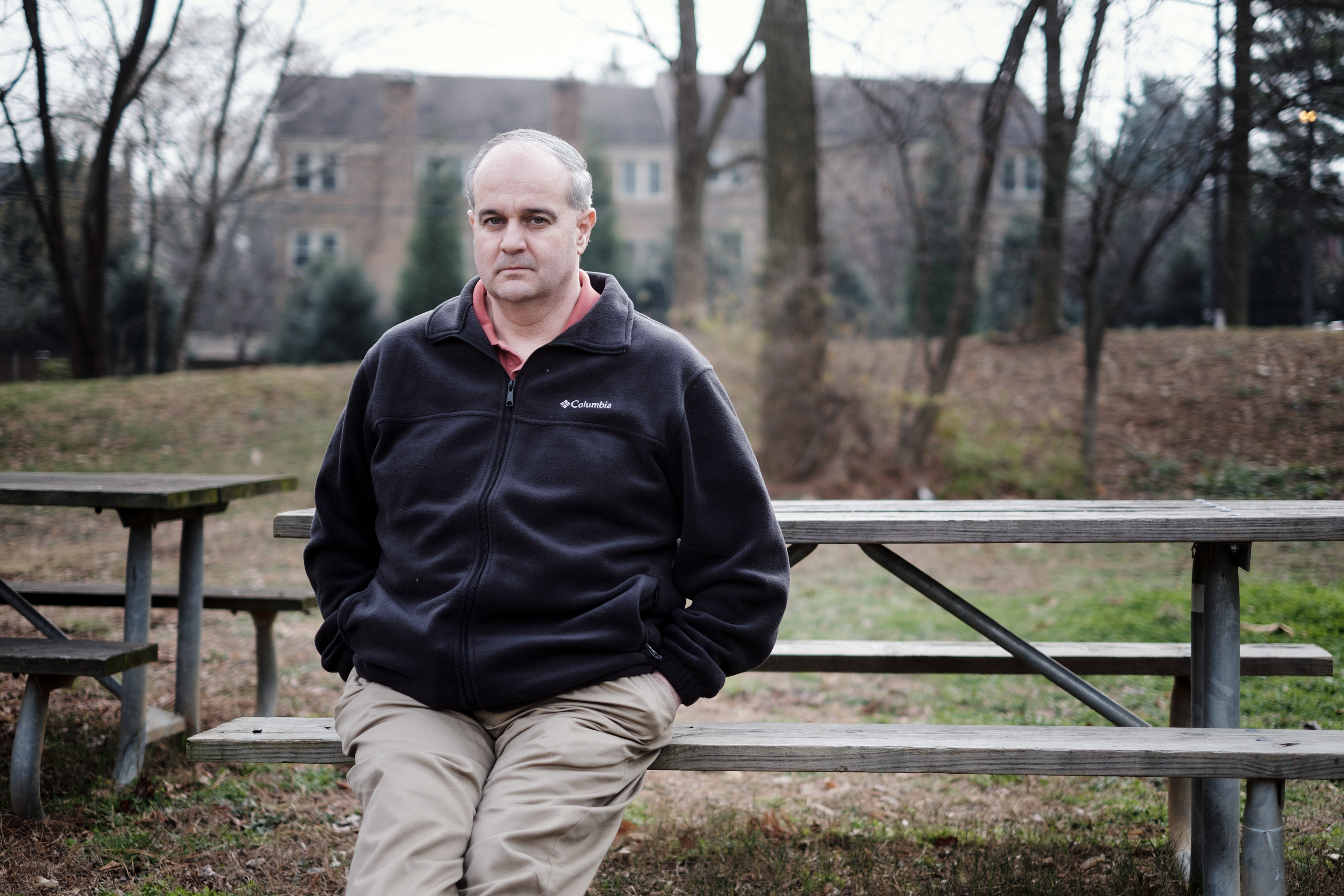 Daryl Johnson, a former analyst at a branch of the Department of Homeland Security that studied the threat posed by anti-government militia groups, near Rockville, Md., Jan. 7, 2016. Johnson says that too little is being done to combat a rising domestic terrorism threat from right-wing extremists. (T.J. Kirkpatrick/The New York Times)