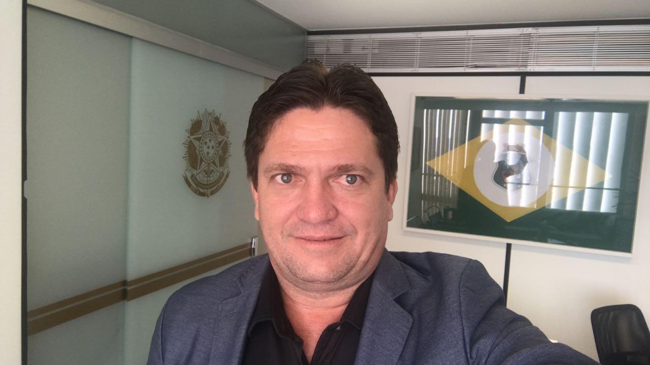 O prefeito de Iguatu, Ednaldo Lavor.