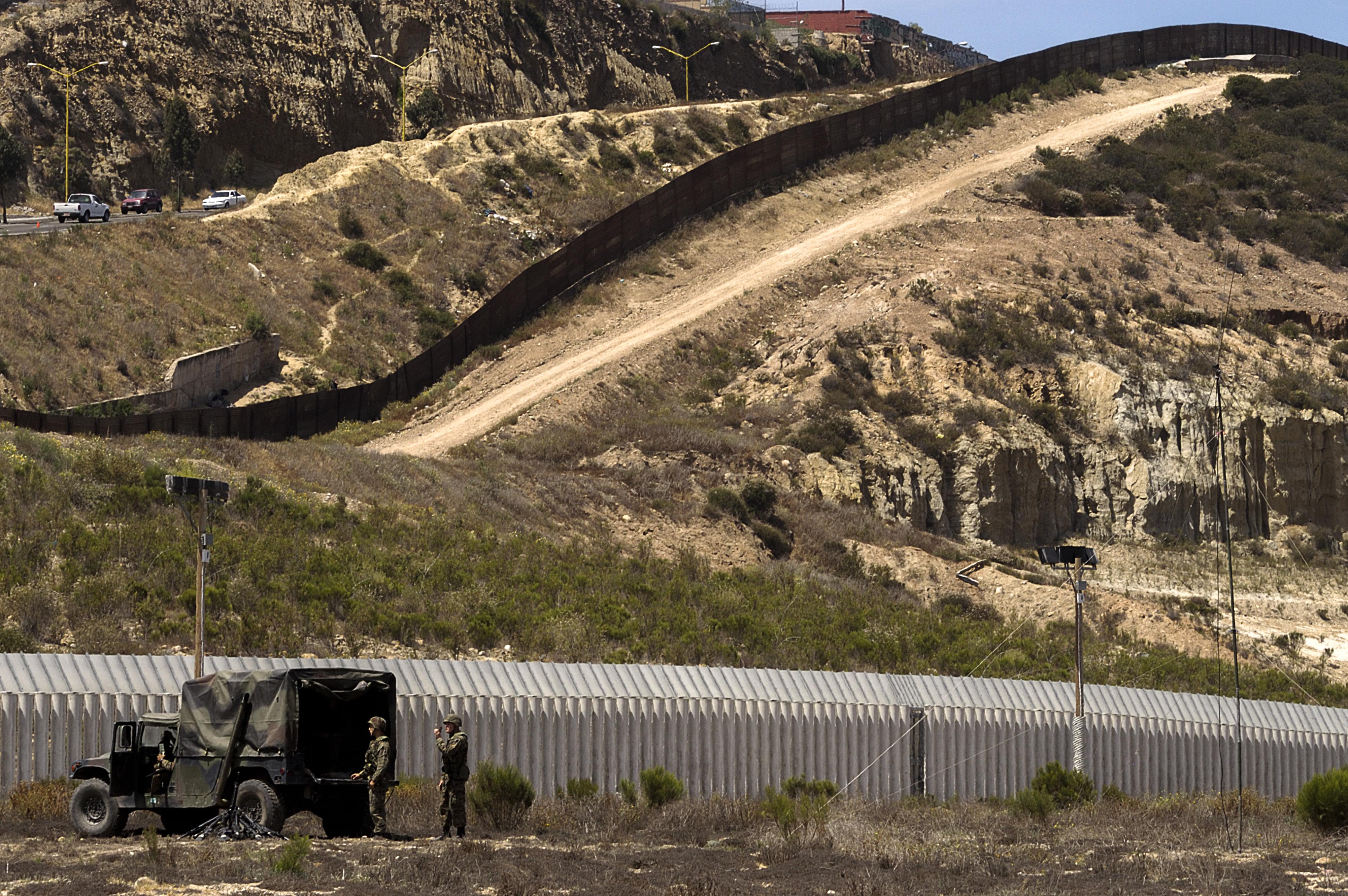 USA-Mexico Border